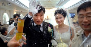 Singapore man with foreign bride