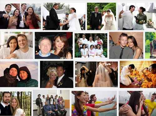 Asian-Western Couples n Marriages